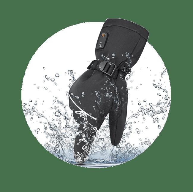 heated gloves waterproof